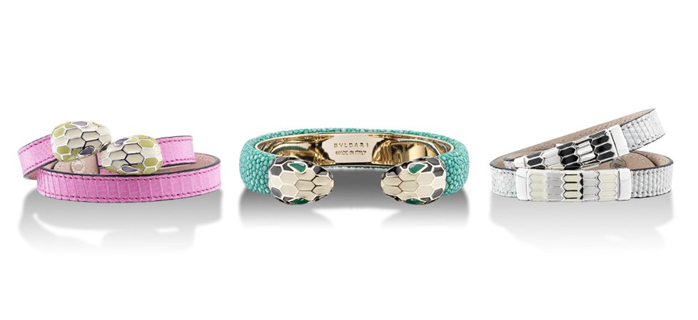 Serpenti - 3 Bracelets - Horizontal