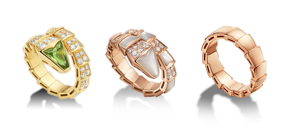 Serpenti - 3 rings